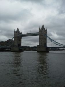 Good profile shot of Tower Bridge