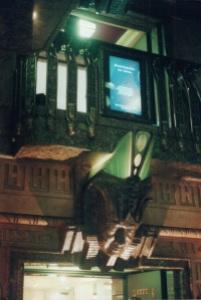 Harrods view of the balcony & elevator