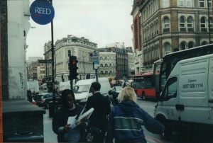 London congested streets