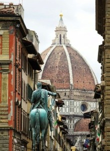 Horse statue in Florence