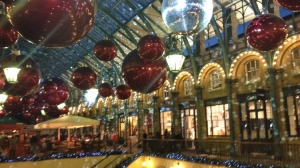 Covent Garden Christmas Lights