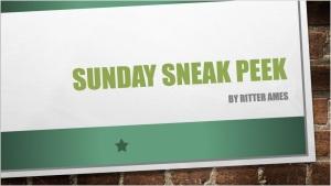 Sunday Sneak Peek