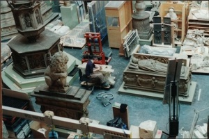 artists-restoration-pit-at-the-victoria-albert-museum-where-cassie-interned-in-book-1