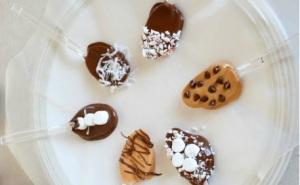 chocolate-spoons